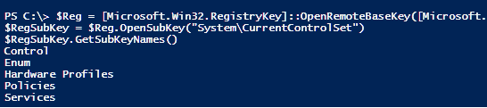 Win32RegistryKey